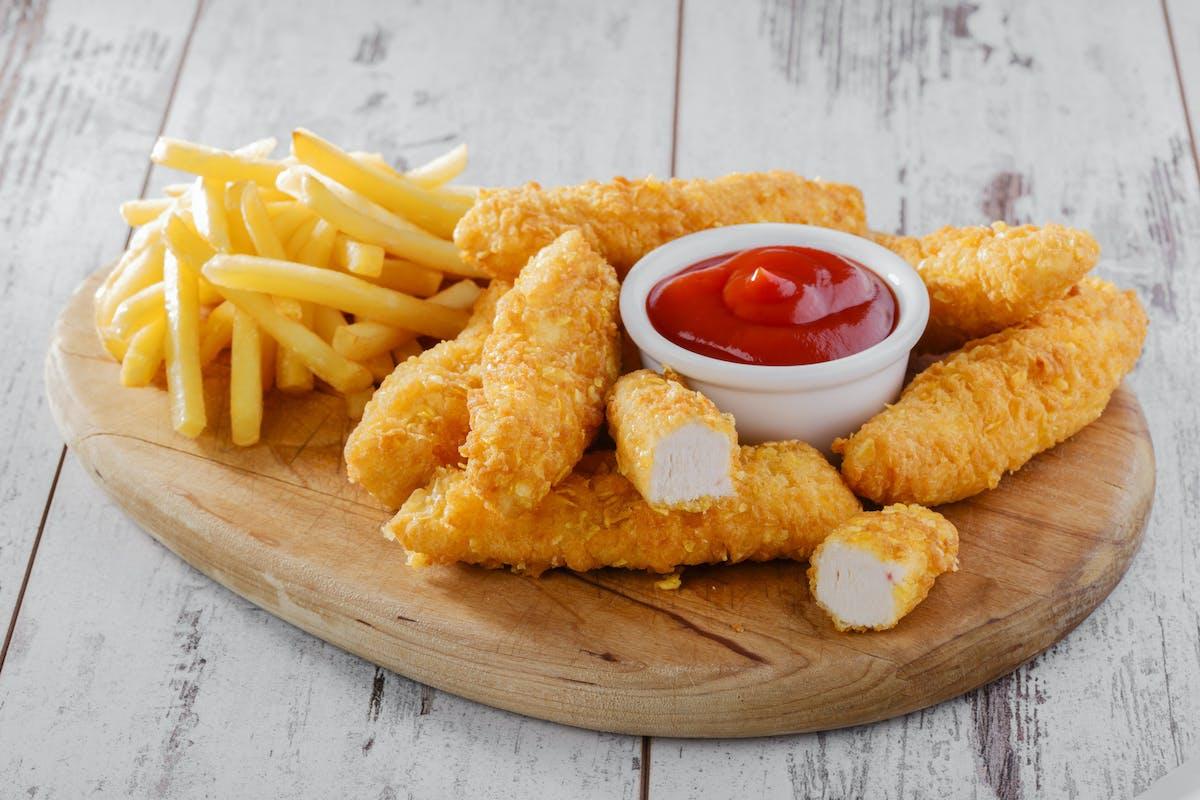 Kubełki strips & frites