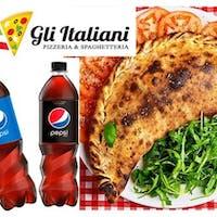Zamów 3 Pizze lub Pasty i odbierz napój 0,85l za 5,89 zł