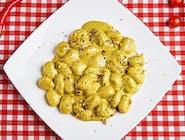 Gnocchi Gorgonzola e Pesto di Pistacchi