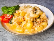 Gniocchi z kurczakiem i gorgonzolą