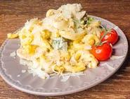 Gemelli con pollo e brocoli