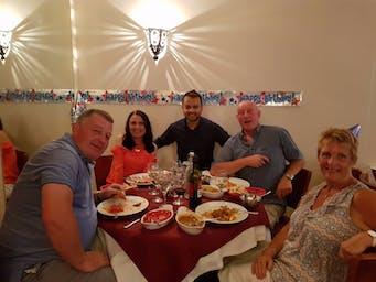Nafiza's guests
