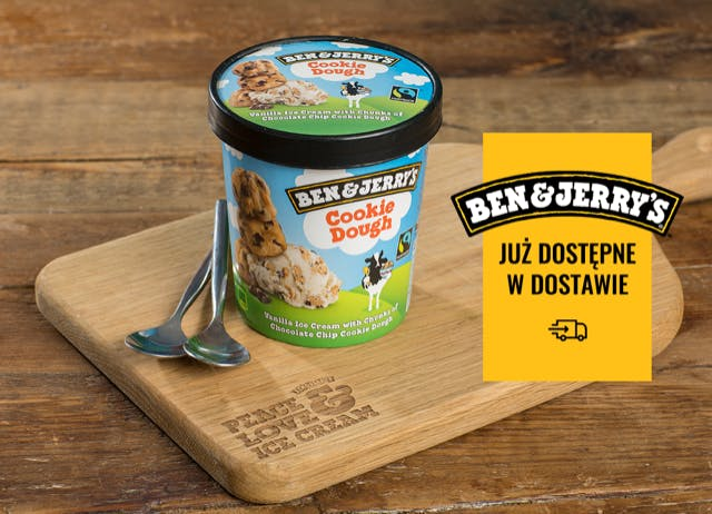 LODY BEN&JERRY'S i CARTE D'OR