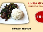 Kurczak teriyaki (chicken teriyaki)