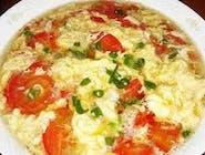Pomidorowo grzybowa (Tomato and mushroom Soup)