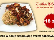 Kurczak w sosie Szechuan (chicken in Szechuan sauce)