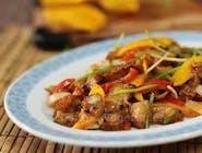 Wieprzowina w sosie mango (Pork  in mango souce)