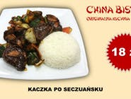 Kaczka po szechuańsku (Duck in Szechuan manner)