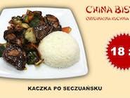 Kaczka po szechuańsku (Duck in Szechuan manner)