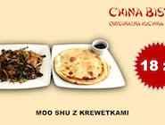 Krewetki Moo shu (Shrimp Moo shu)