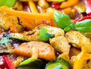 Kurczak w tajskim sosie curry (chicken in thai curry)