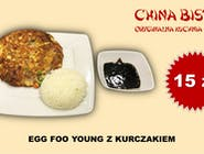 Kurczak Egg Foo Yong(egg foo yong chicken)