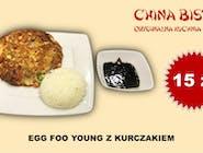 Kurczak Egg Foo Yong(egg foo yong chicken)