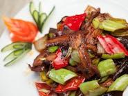 Wieprzowina w sosie Szechuan (Pork in Szechuan sauce)