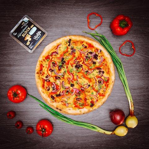 pizza weganska