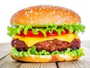 Cheeseburger z pieca