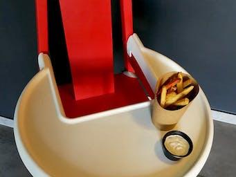 Krzesło + fryty