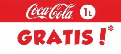 COCA COLA 1l - GRATIS