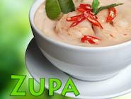 Zupa thai z krewetkami