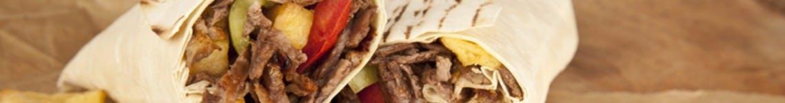 Kebaby w tortilli