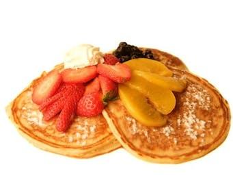 Pancake z owocami mix