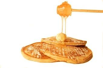 Pancake z syropem klonowym