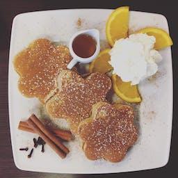 Korzenne pancakes