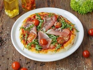 Kup Dwie Pizze Średnie, Mała Pizza Pierwsza za  7zł  PONIEDZIAŁEK - NIEDZIELA