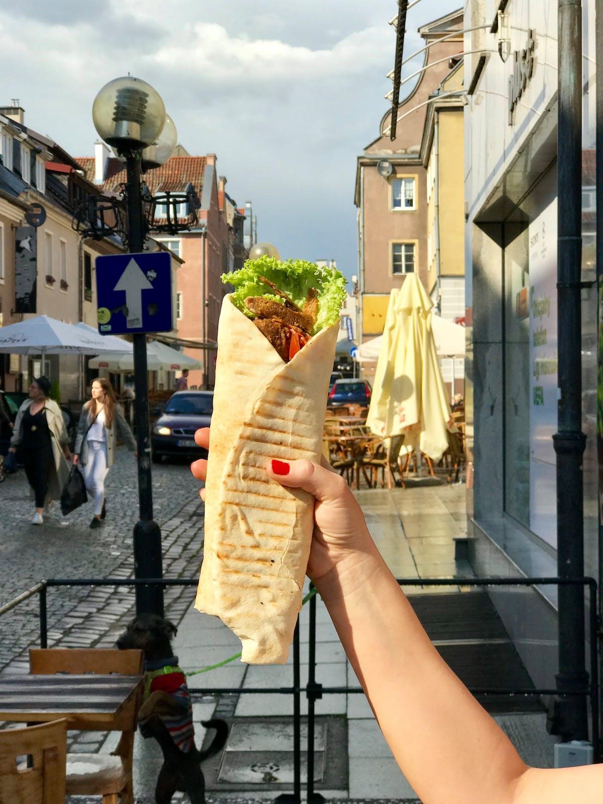 Wegański Kebab i Gyros