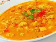 Tajska z kurczakiem i warzywami + makaron ryżowy