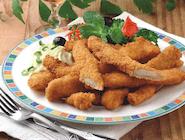 Fryty drobiowe (paski fileta z kurczaka w lekko pikantnej panierce)