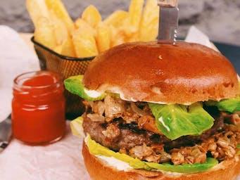 Burger sweet chilli