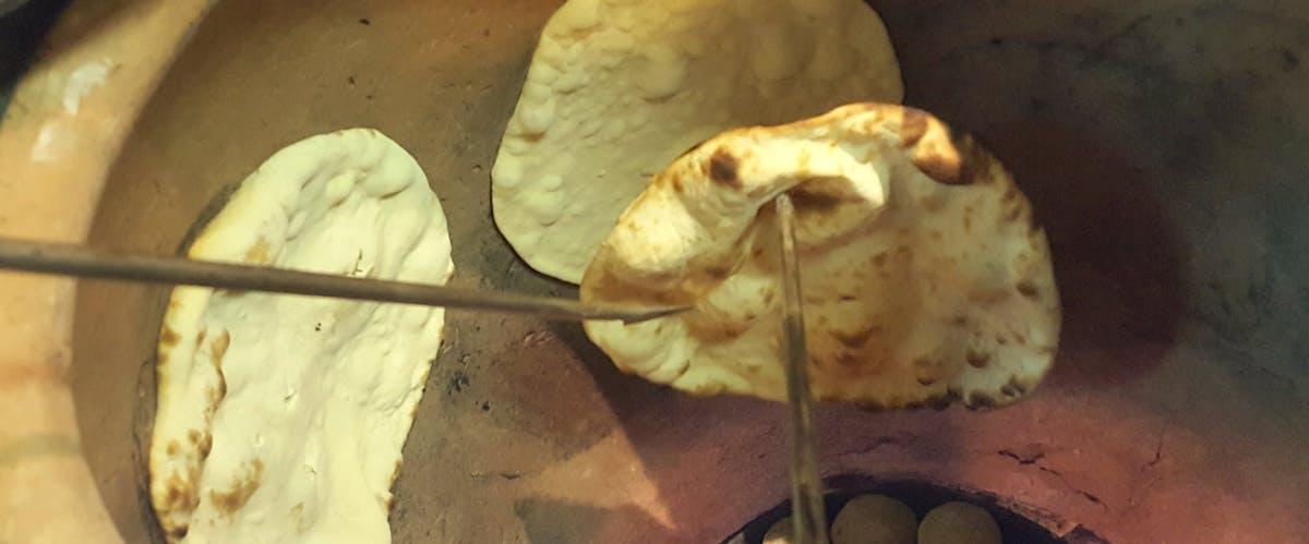 Chlebek naan i Paratha