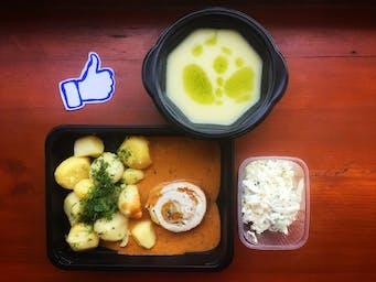 Rolada mięsna z warzywami