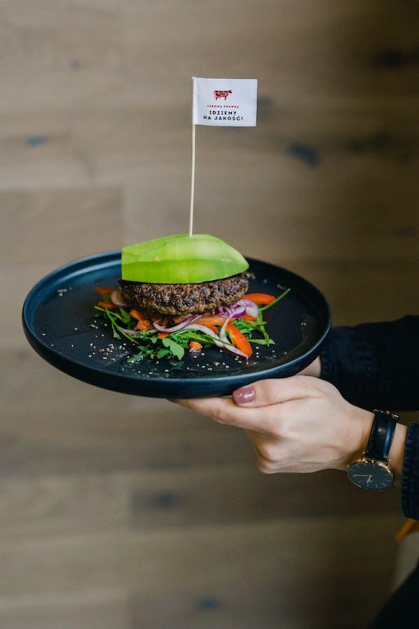 Awokado burger