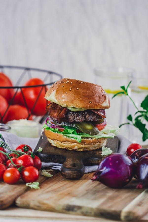 Becon burger