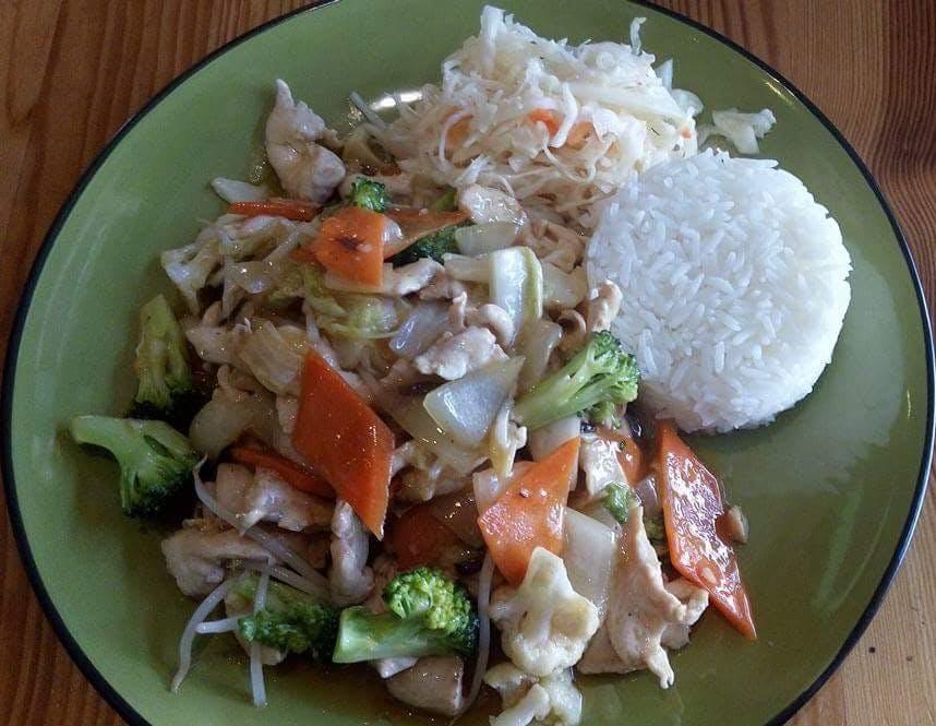 Potrawy z sosem- z Woka