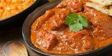 Krewetki curry