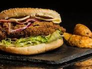 Chickenburger 100%mięsa drobiowego przygotowywanego na miejscu