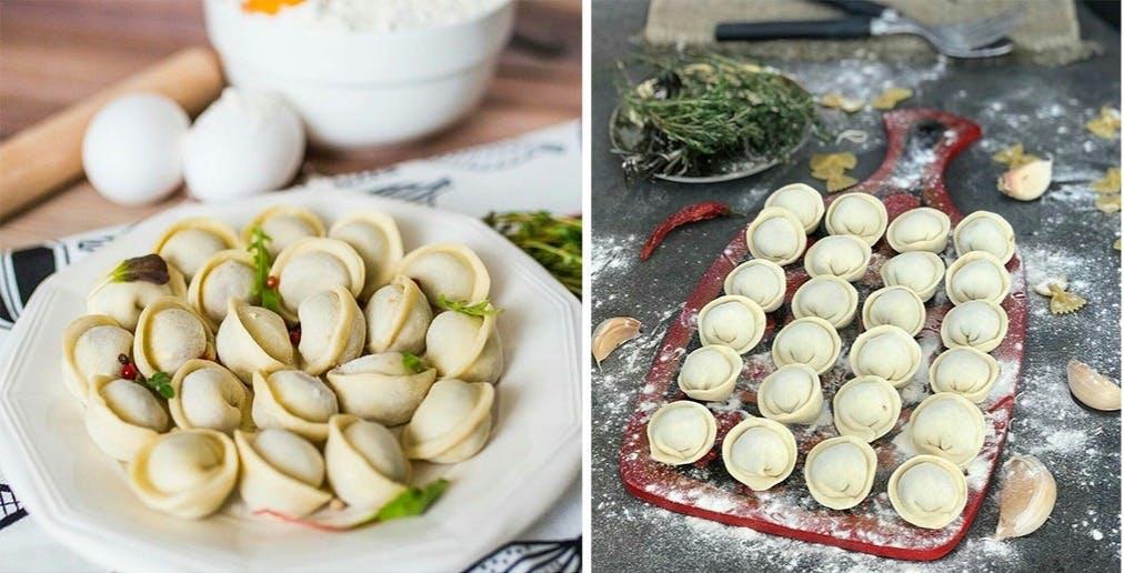 Pielmieni/Meat dumplings