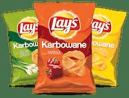 Chipsy Karbowane. Różne smaki