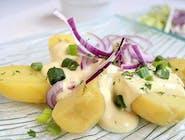Cartofi cu maioneză 250gr.