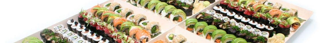 Talerz cateringowy sushi 100szt