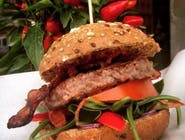 Burger Red Hot Chilli Bacon