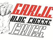 Garlic Blue Cheese Fries