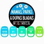 MAMAS, PAPAS & DUPAS BLADAS