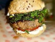 FITburger z jarmużem