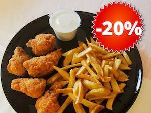 Reducere de 20% la Meniul Spicy Chicken Wings