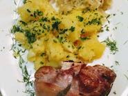 DD13. Golonka gotowana + zupa