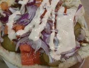 k3 Kebab w bułce